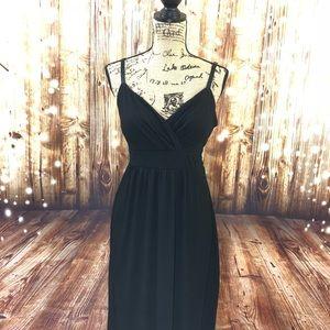 Black philosophy maxi dress size large